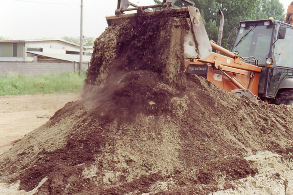 Miscelazione top soil