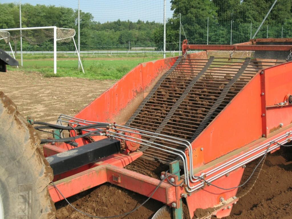 Costruzione campi da calcio, rugby e golf